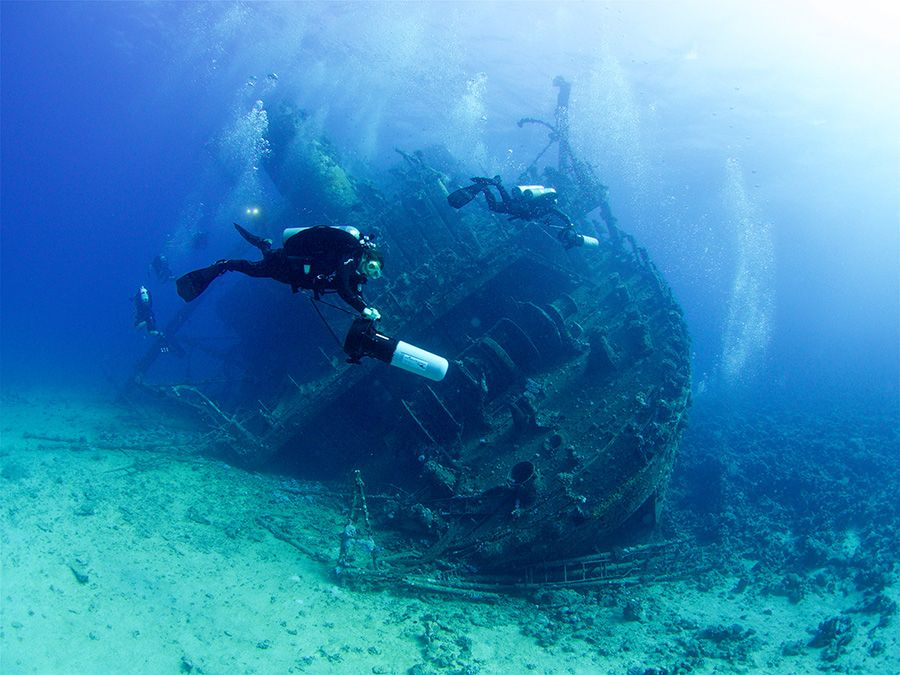 Wrecks of Abu Nuhas