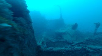 100-year-old coaling ship discovered by Red Sea Explorers.
